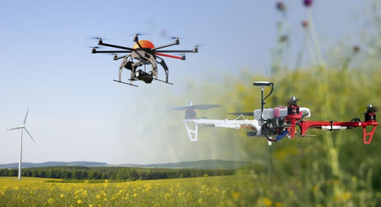 uso de drones en agricultura